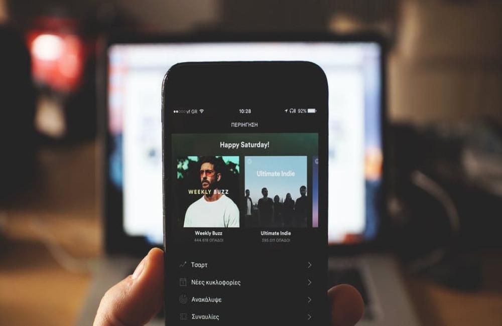 Voordelen online muziekdiensten